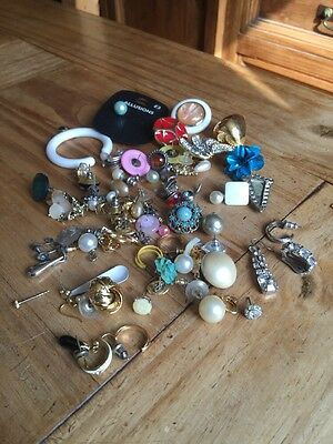 Job Lot Of Single Earrings House Clearance