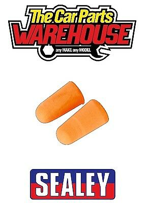 Sealey Ear Plugs Disposable  1 PAIR  5 PAIR  10 PAIR  Noise Reducing