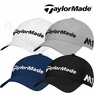 TaylorMade 2017 Mens Lite Tech Tour M1 Performance Cap Golf Hat - Adjustable