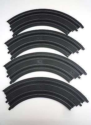 MICRO SCALEXTRIC TRACK - L7555 long curves x 4