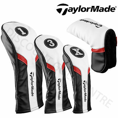 TaylorMade 2017 Golf Club Head Covers (Driver, Fairway, Hybrid, Putter)