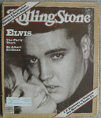 ELVIS The Party Years - 1981 Rolling Stone