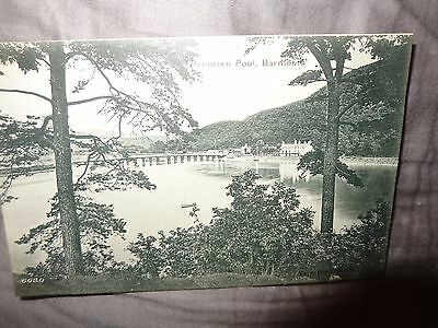 WALES  BARMOUTH Penmaen Pool early Valentine's UDB  Postcard R/L