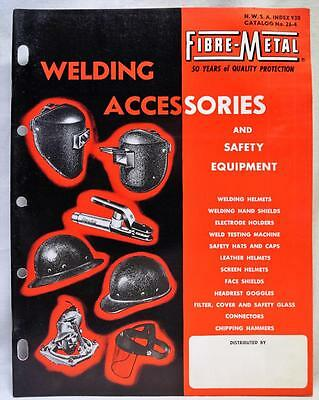 Fibre Metal Products Company Welding Accessories Sales Catalog 1963 Vintage