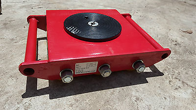 Industrial Skate 15 tonnes Heavy Roller Machinery Mover Cargo Trolley