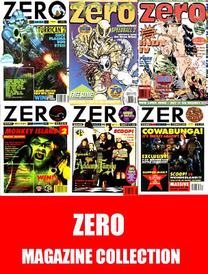 Zero Magazine Collection DVD - Vintage Multiformat Gaming Magazines on DVD