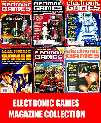 Electronic Games Magazine Collection DVD