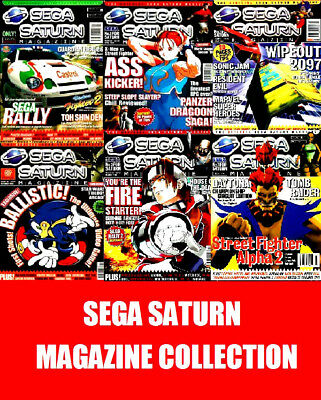 SEGA SATURN MAGAZINE ON DVD Retro Gaming Collection on DVD PDF