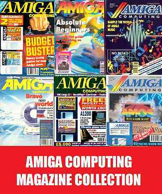Amiga Computing Magazine Complete Collection Full 117 Issues on DVD