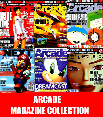 ARCADE MAGAZINE ON DVD Collection High Quality PDFs on 2 DVD