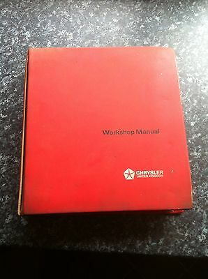 Chrysler Imp Chamois Workshop Manual
