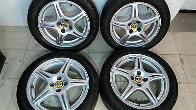 "LOTUS ELISE S1 AWI WHEELS Twin Spoke Alloy Rims Felgen 15"" 16"" Mk1"