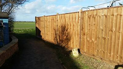 Wooden Fence Panels Pressure Treated Feather Edge Fencing Panel Fully Framed