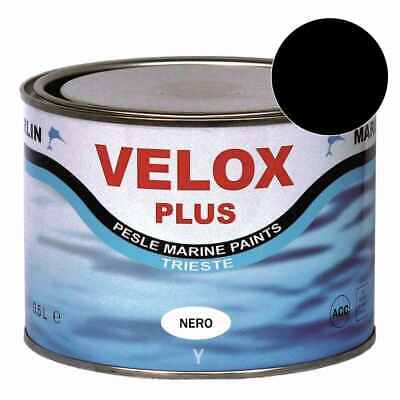 Marlin Velox Plus Propeller Antifouling schwarz 500 ml, Z-Antrieb Wellen