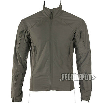 UF Pro ® Hunter FZ Jacket steingrau-oliv brown-grey Light-Shell Cocona® Fleece