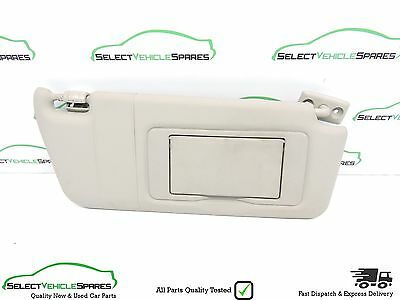 Mercedes Clk W209 Coupe Drivers Side Front Sun Visor + Mirror Grey 2002-2009