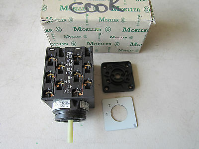 Moeller T3 Rotary Cam Switch - Missing Knob T3-5-8270/E NOS