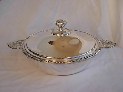 Christofle For Gallia,perle,silverplate Vegetable Dish