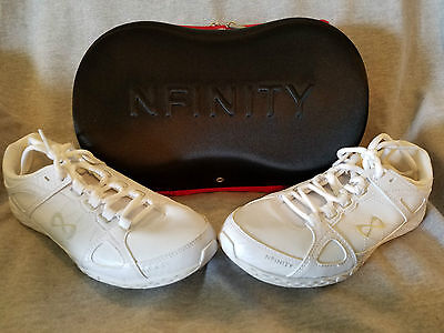 NFINITY Rival Cheerleading Shoes - White - Womens Size 7