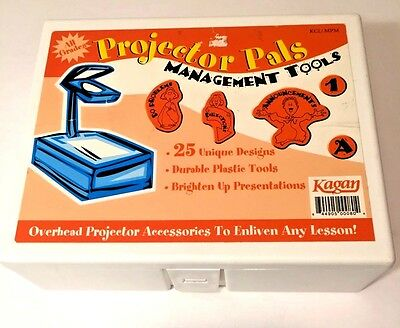 Kagan Projector Pals Overhead Transparency Presentation Graphics Lessons Tools