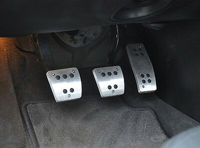 Hirsch lookalike pedal set for Saab 9-3 or 9-5 (manual transmission!!)