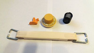 Brother Knitting Machine Ribber Kh-881 Dial Knob Timing Belt Buttons Handle