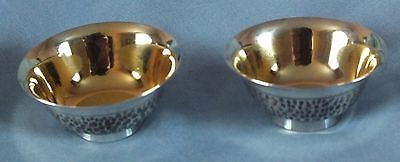 Japanese Solid Silver Sake Cups