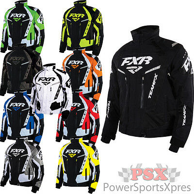 FXR Team FX Snowmobile Jacket w/ Removable Liner ` New 2016