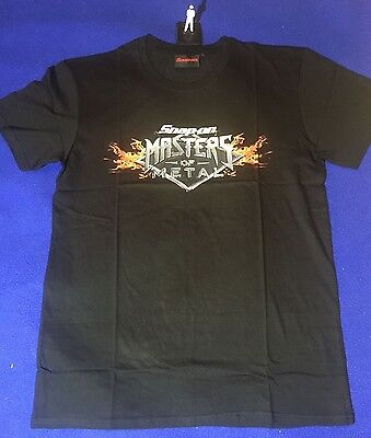 Snap On Masters of Metal XL T-Shirt 100% Cotton T SHIRT Extra Large NEW Birthday