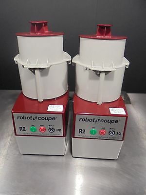 2-Food Processor Robot Coupe R2C  $885  100% WORKING CONDITION >> FREE SHIPING<<