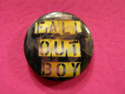 Fall Out Boy New Button Badge Pin Uk Import