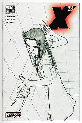 X-23 2  Sketch Variant Cover