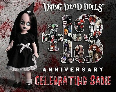 Living Dead Dolls - Celebrating Sadie - 13th Anniversary Doll.
