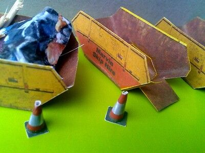 Model Railway Skips and Accessories OO Gauge Model Railway Scenery