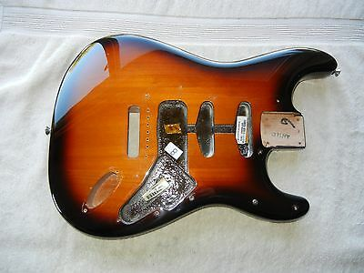 Fender American Special  Stratocaster Strat BODY USA Guitar Sunburst Under 4 lbs