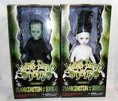 Living Dead Dolls Presents - Universal Monsters - Frankenstein and The Bride.