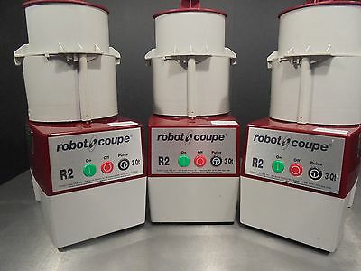 Food Processor  R2 Robot Coupe      3 Units For $1350.00    Free Shipping!!!
