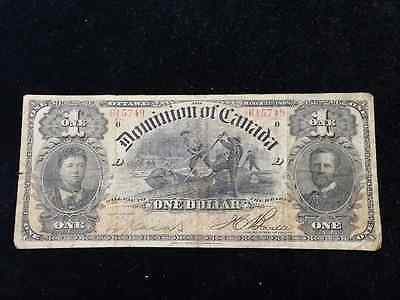 1898 $1 Dominion of Canada Boville 24A b