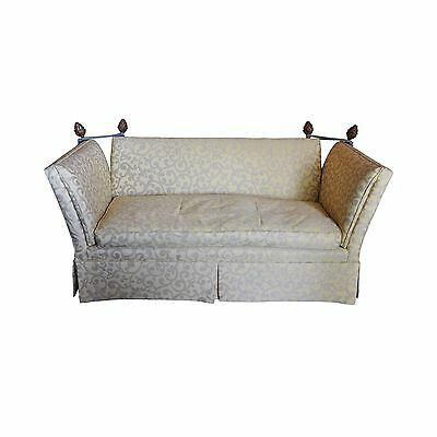 Baker Knole Upholstered Settee - Excellent Condition!!