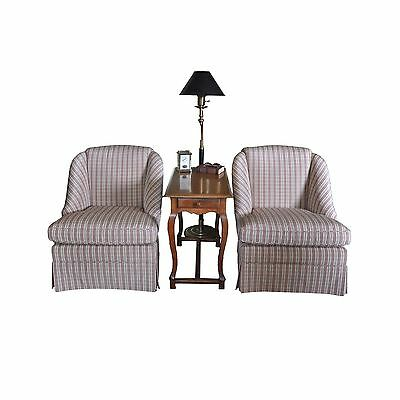 Pair of Baker Furniture Club Chairs