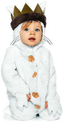 New Toddler's Where the Wild Things Are Max Costume Halloween Outfit 12/18