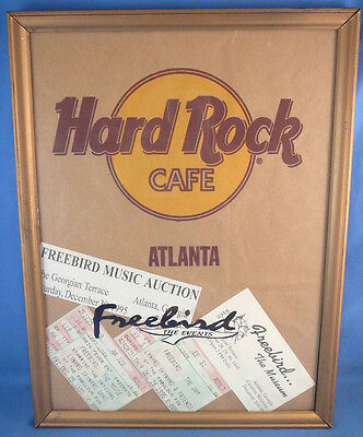 1995 Lynyrd Skynyrd And Friends The Jam,movie,auction,museum Ticket Stubs,more