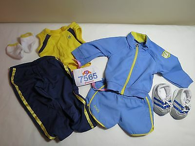 American Girl Doll Retired Track/Running Outfit EUC