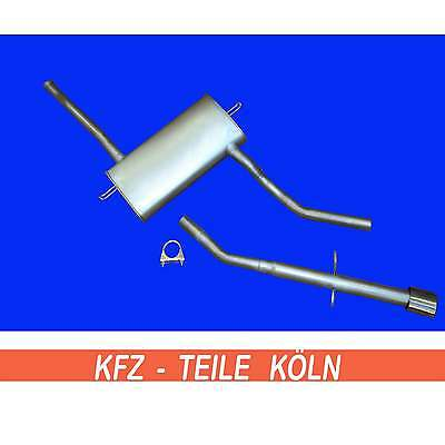 Volvo 850 S70 V70 2.0 2.5 2.4 MIDDLE SILENCER + End pipe Exhaust system