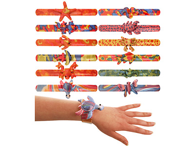 Bracelet Animal Snap Children Kids Loot Goody Party Bags Pinata Fillers Toys