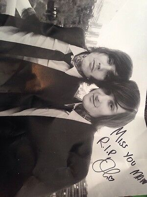 100% Authentic Oli Sykes Signed Poster With Mitch Lucker