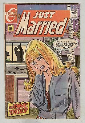 Just Married #75 February 1971 G Love Thief