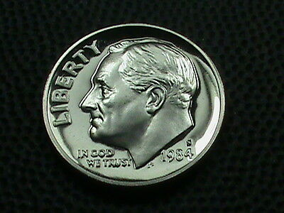 UNITED STATES     10 cents   1984  -  S    PROOF