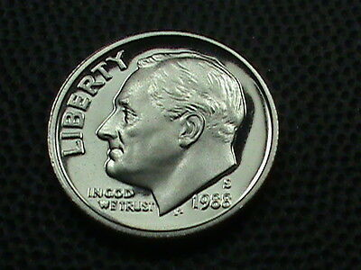 UNITED STATES     10 cents   1988  -  S    PROOF