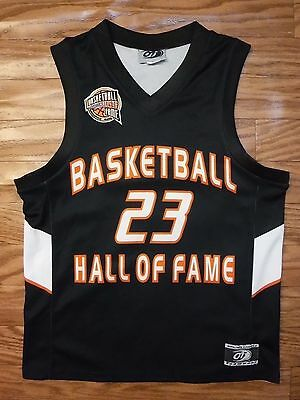 """Basketball #23 Hall of Fame by OT Sports Black Jersey Shirt Youth L """"Excellent"""""""